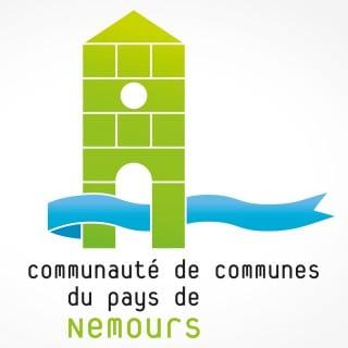 logo communauté de communes du pays de nemours