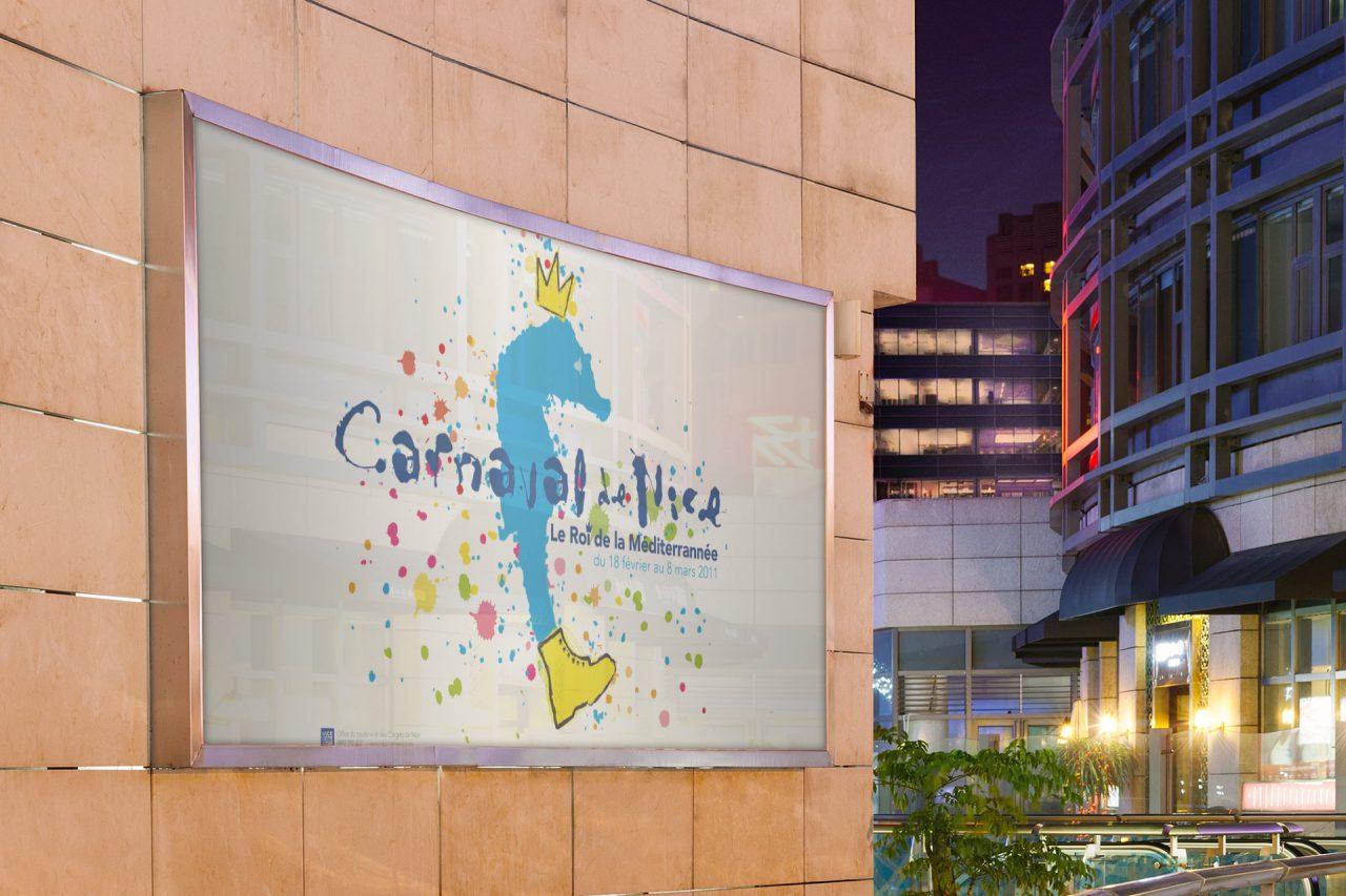 affiche carnaval de nice