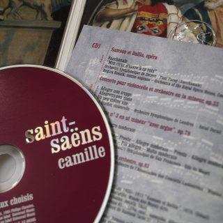 collection CD classiques saint-saens