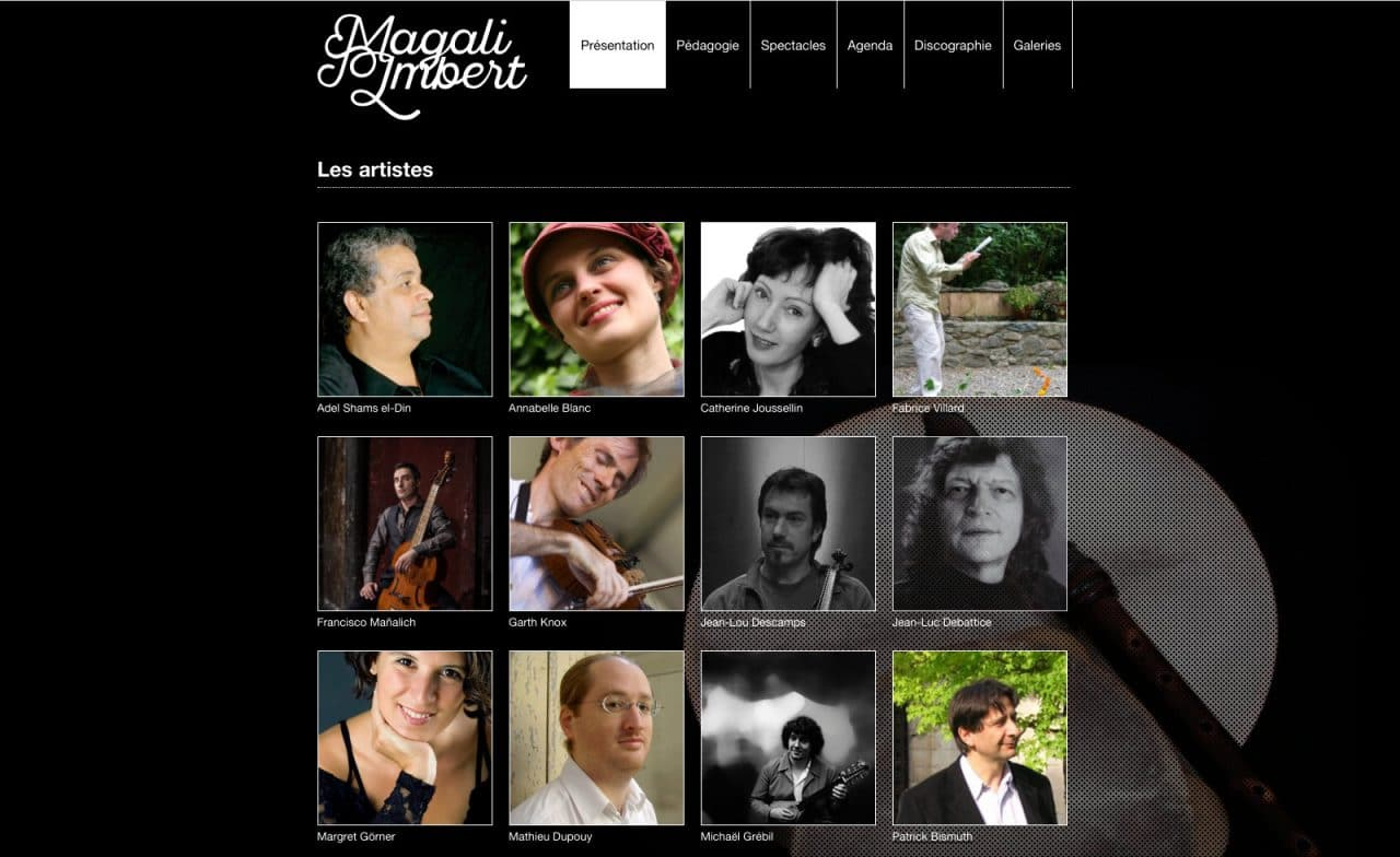 site web magali imbert