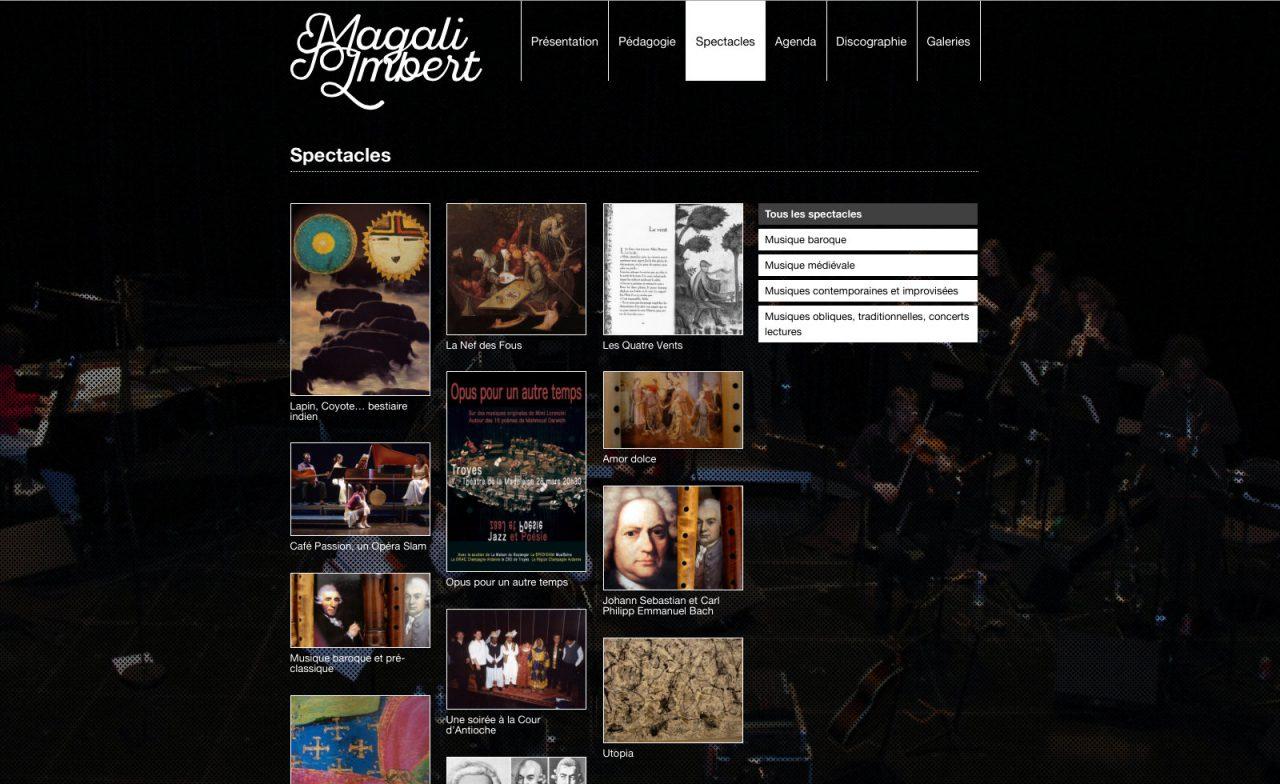 site web magali imbert