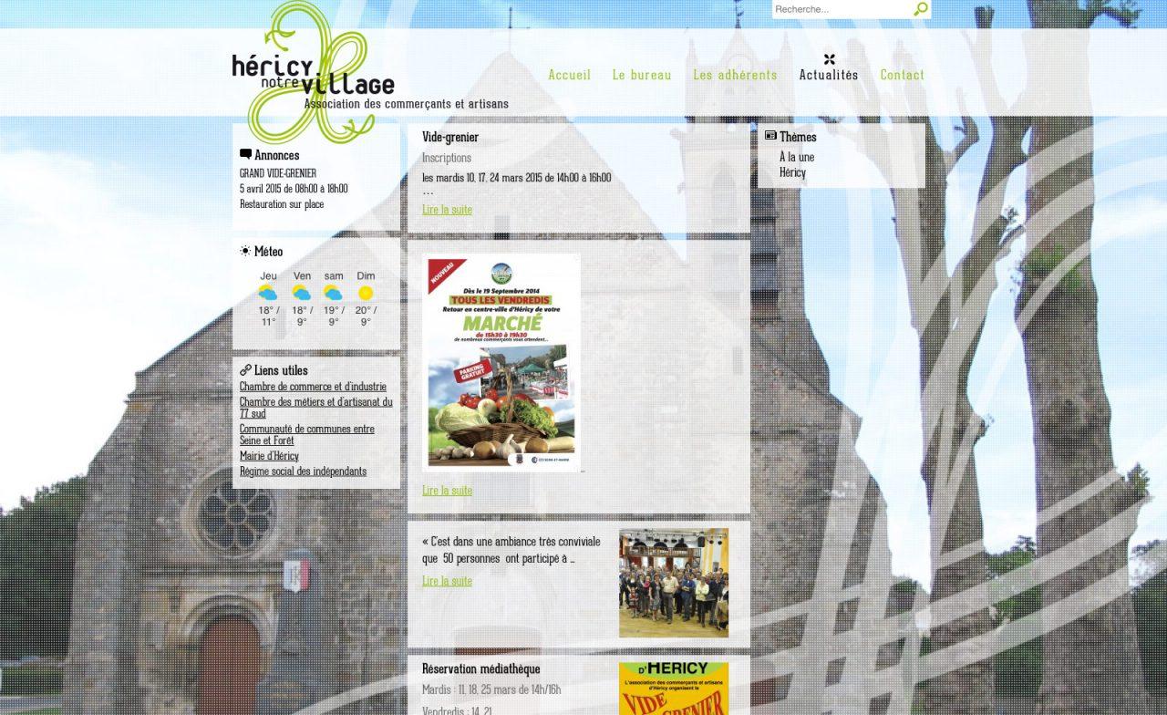site web héricy