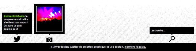 footer site responsive