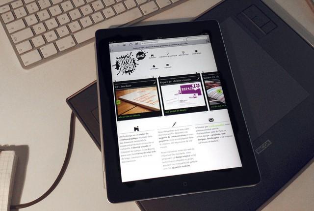 responsive design ipad