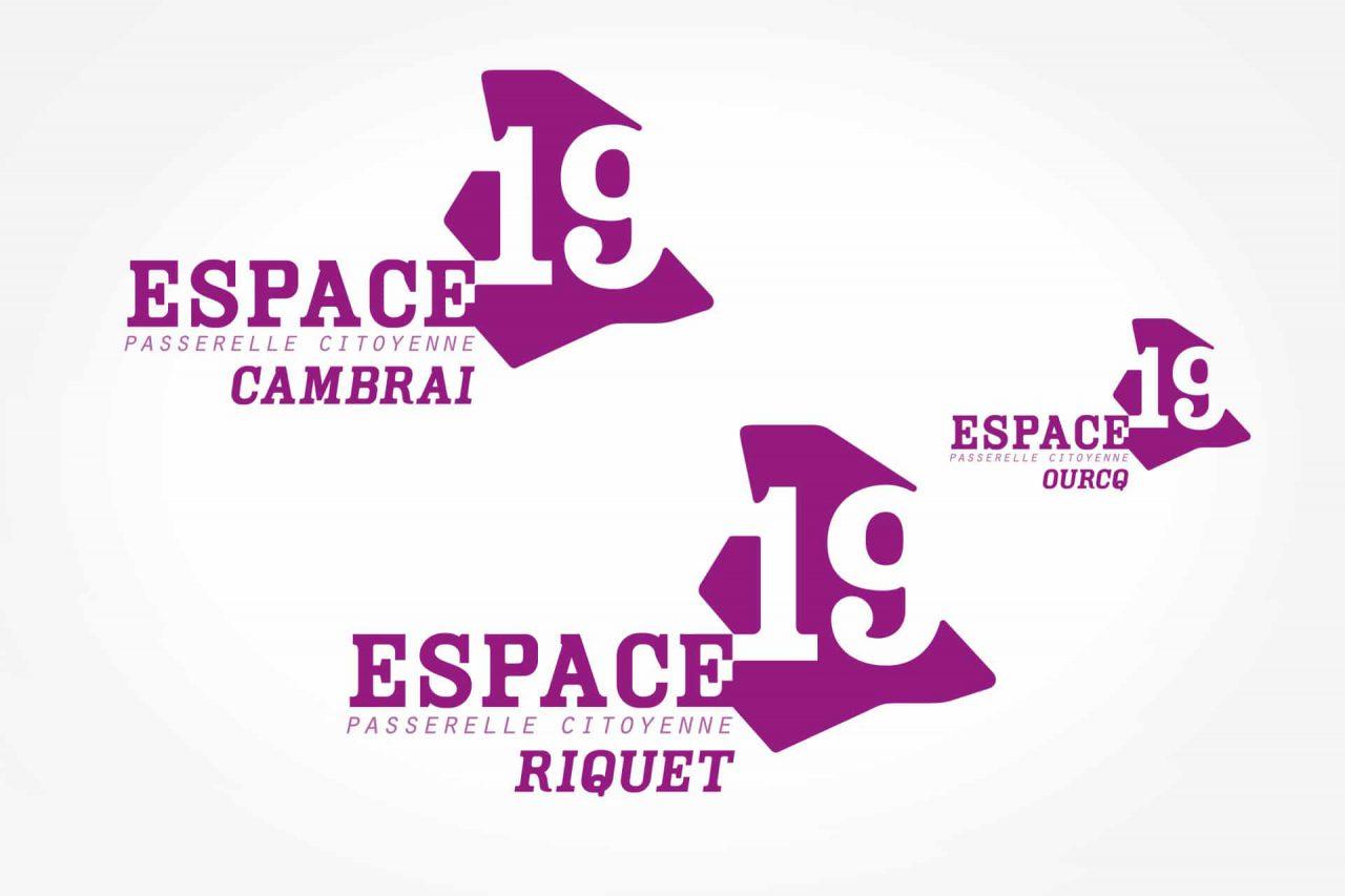 logos espace 19
