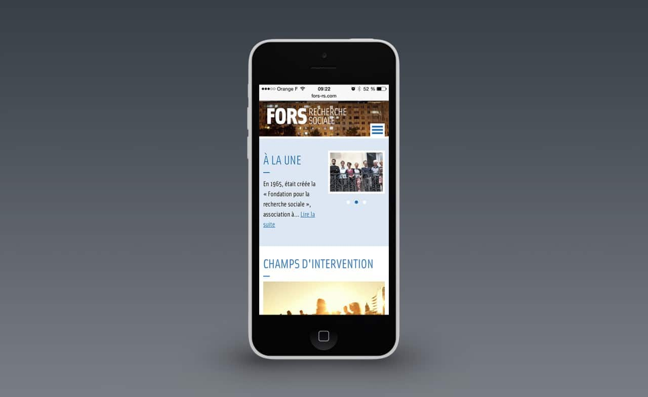 site web responsive fors rs