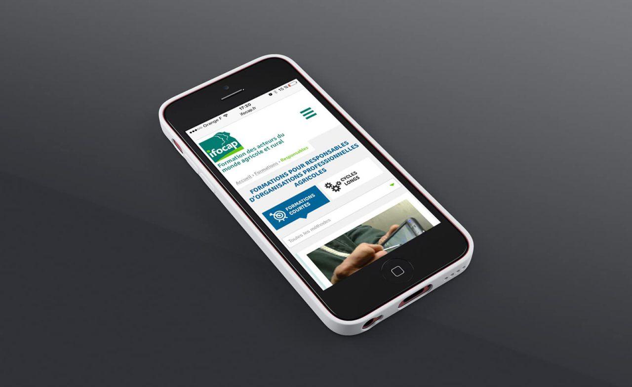 site web responsive ifocap