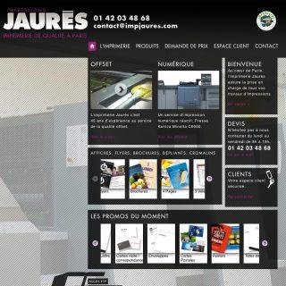 site web imprimerie jaurès