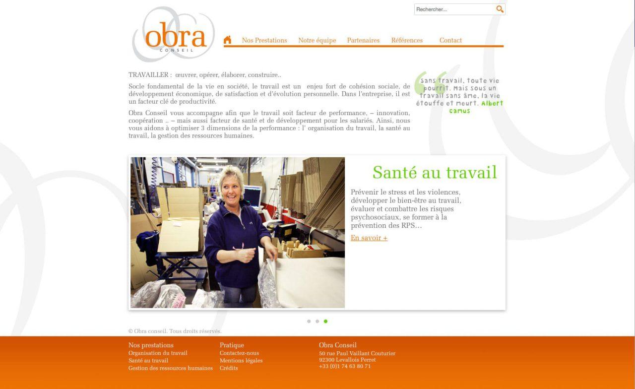 site web obra conseil