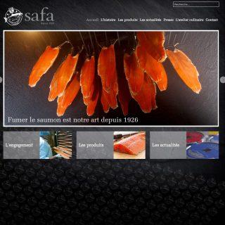 site web responsive safa