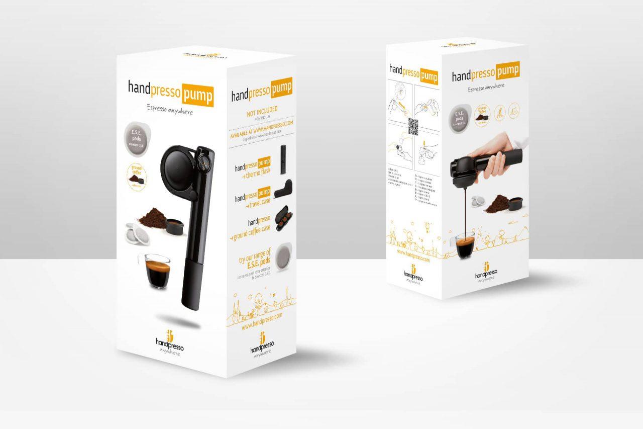 packaging handpresso pump