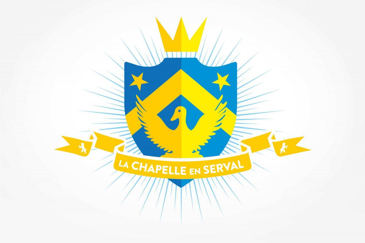 logo la chapelle en serval