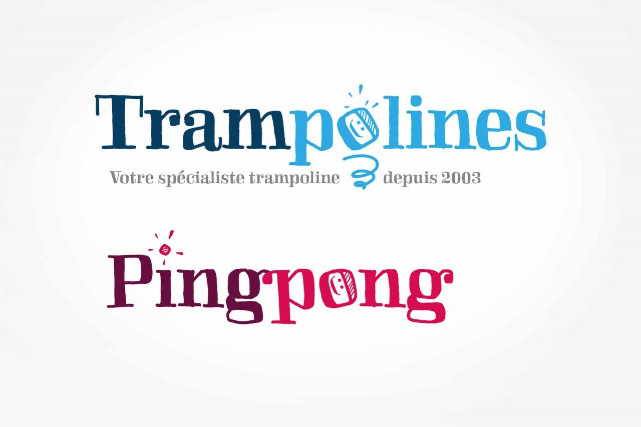 logos trampolines et pingpong
