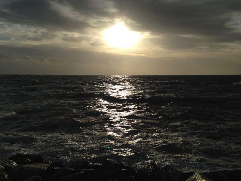 la mer en décembre