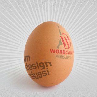 visuel de conf un design réussi