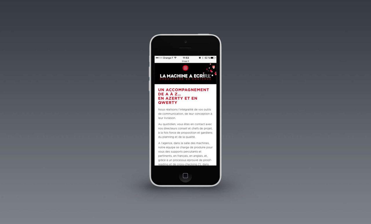 site mobile LMAE