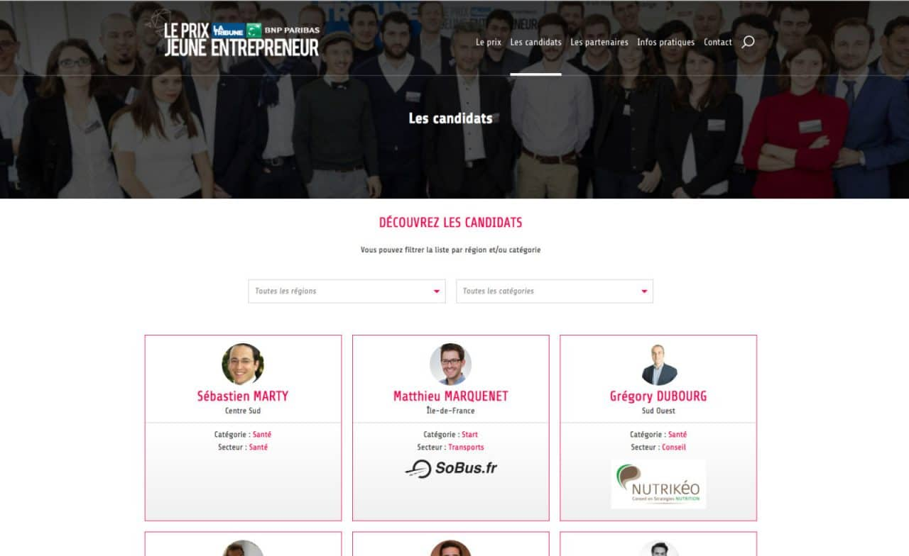 site pltje candidats