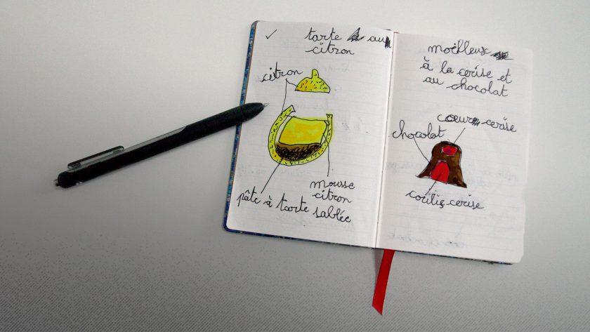 cahier d'idées