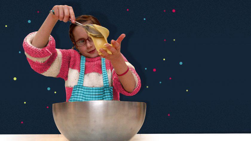 la main dans la pâte