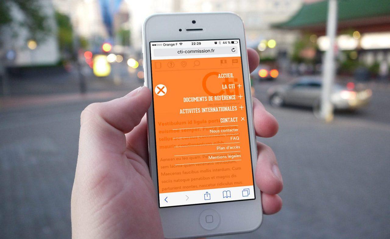 site web CTI iphone