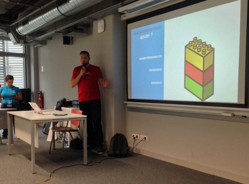 Thierry Pigot parle CPT au wordcamp marseille