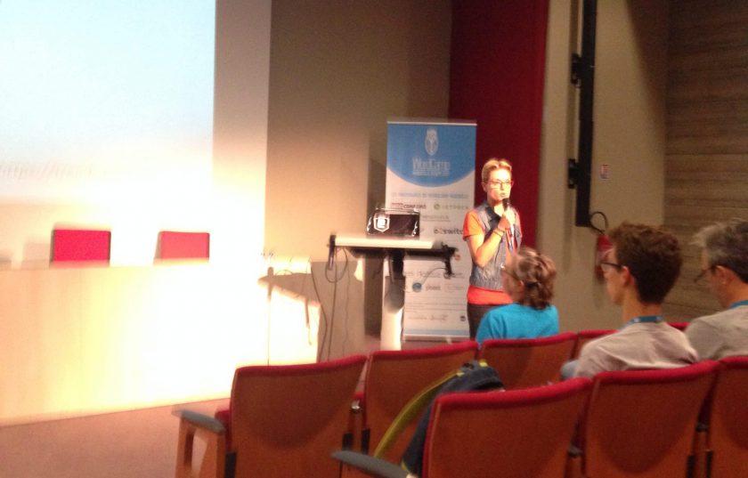Sandra Boulou parlant de woocommerce