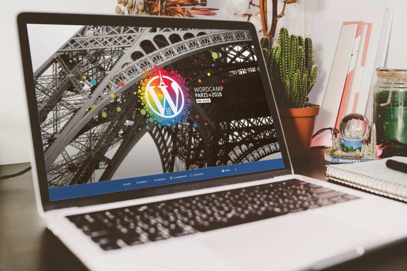 site du wordcamp paris 2018