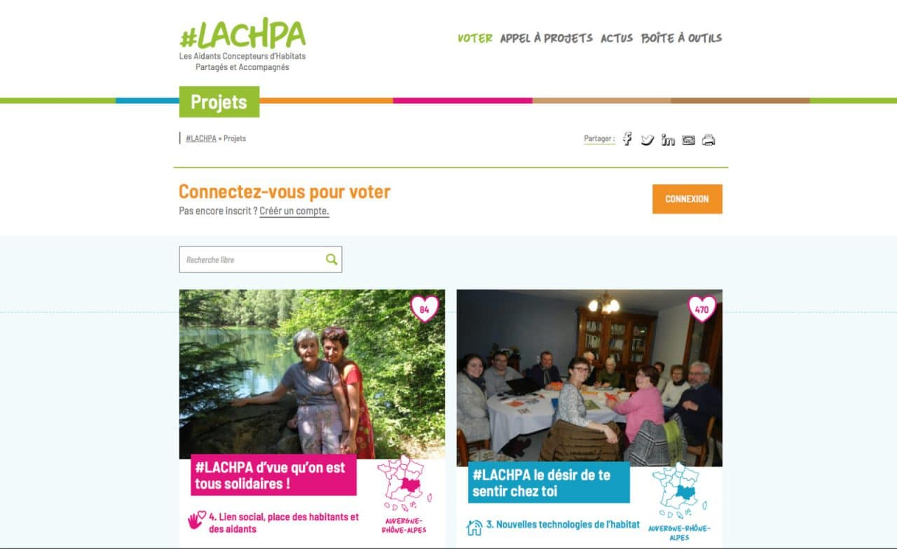 lachpa site web projets