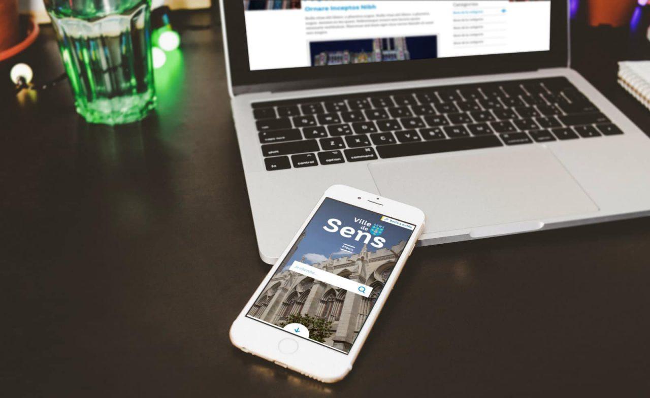ville de sens site mobile