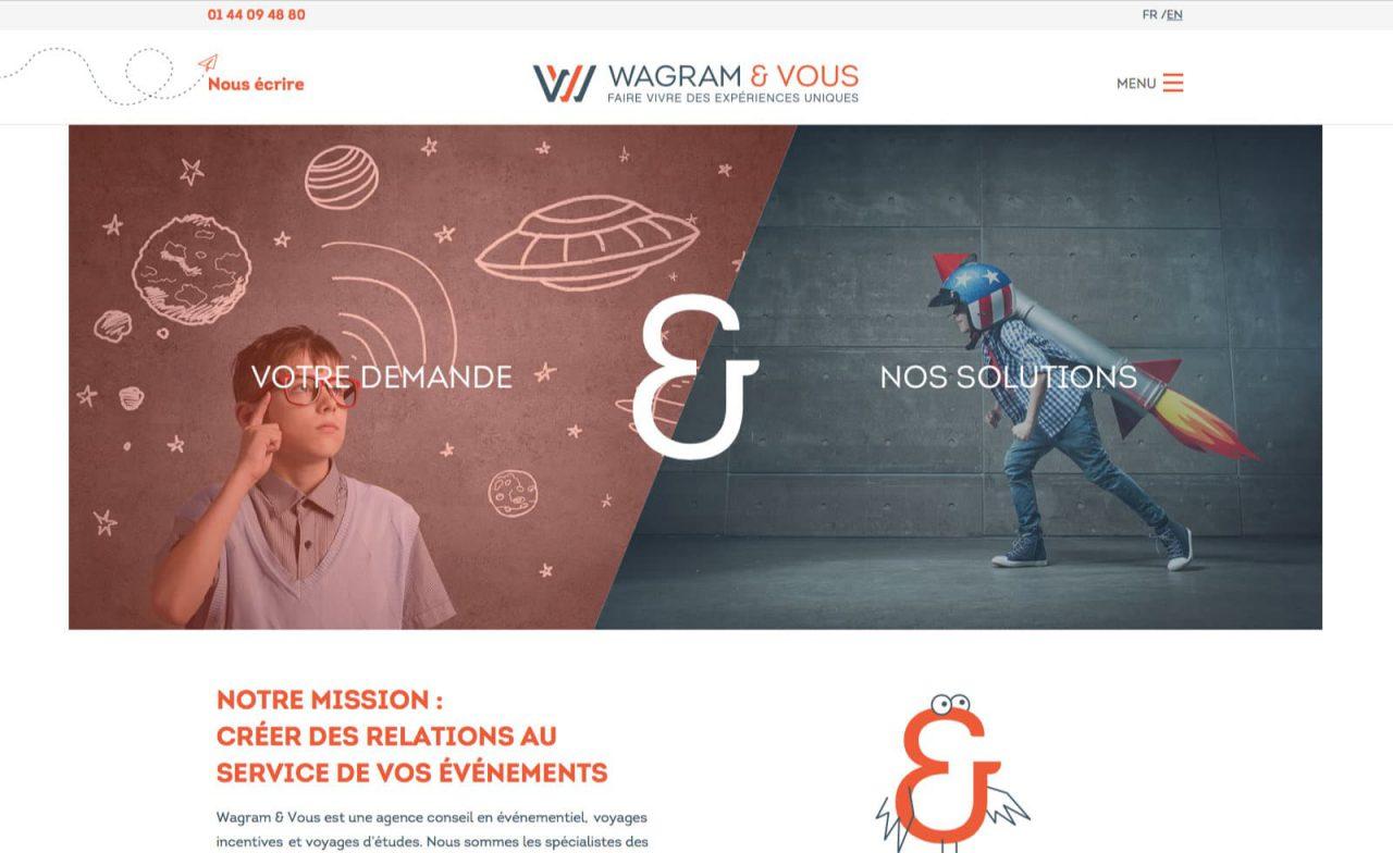 wagram et vous page d'accueil