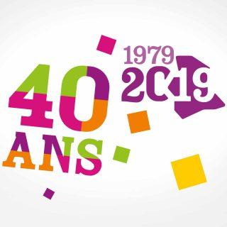 logo 40 ans espace 19