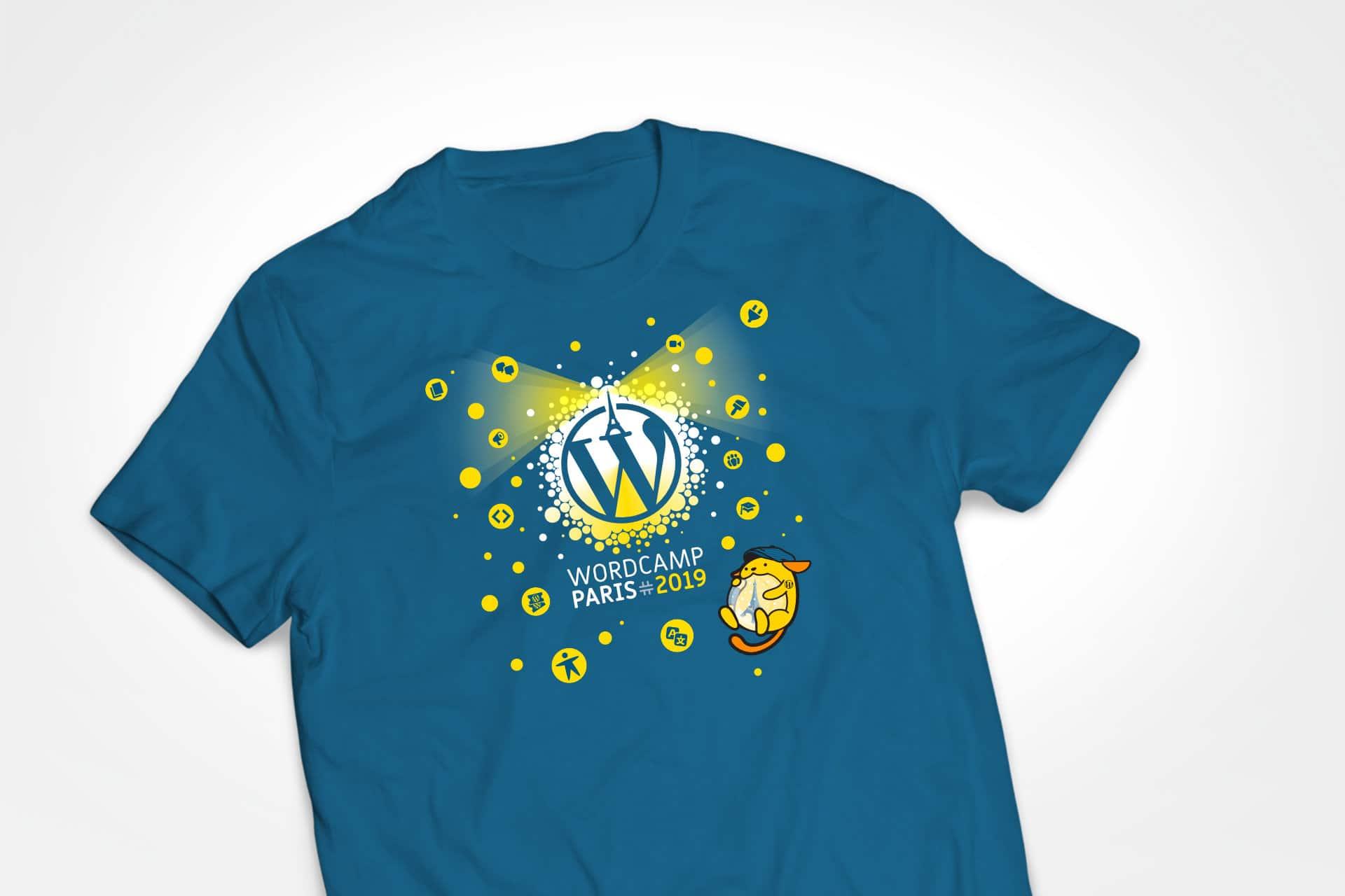 tshirt wordcamp paris 2019