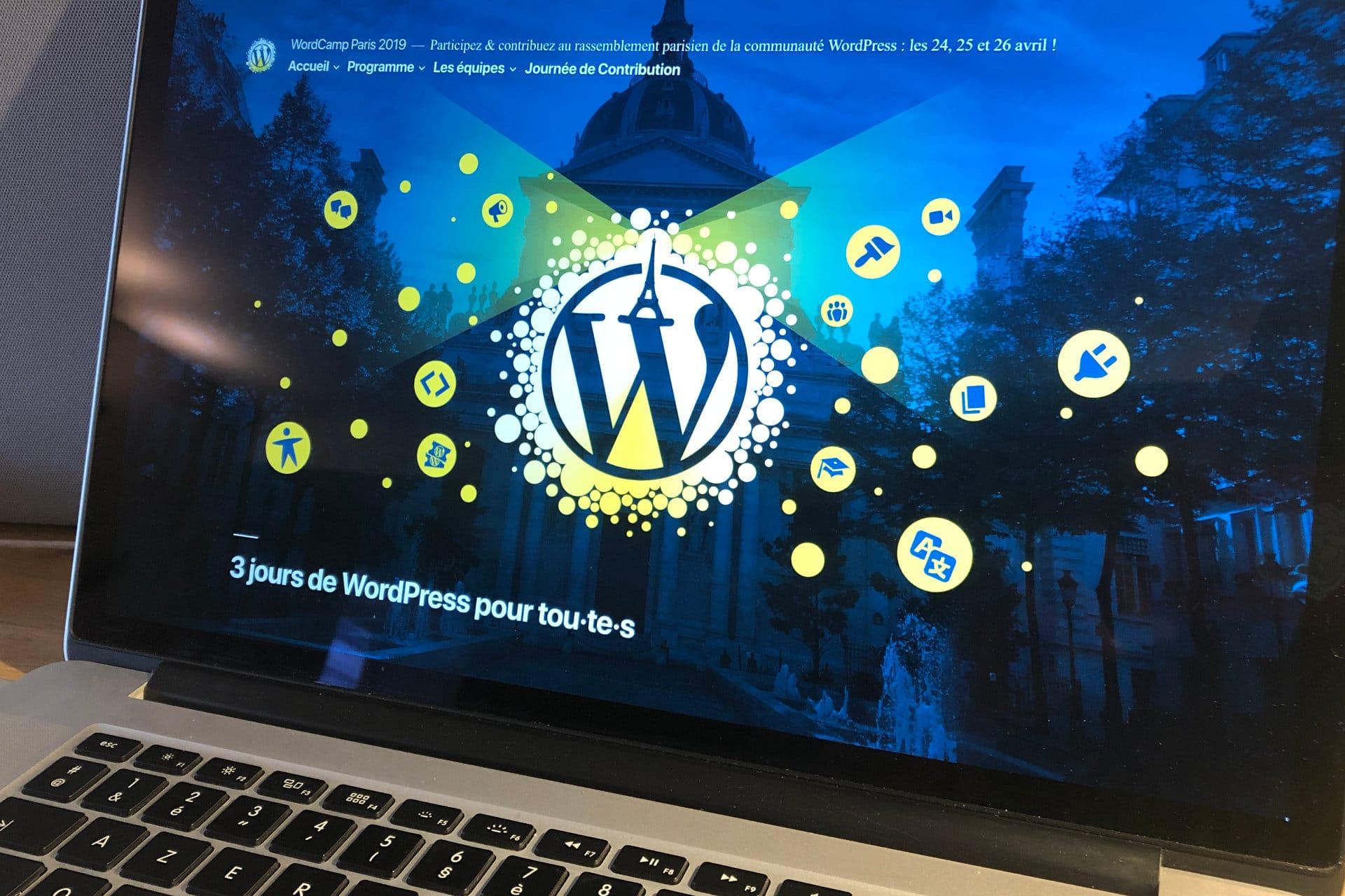 site wordcamp paris 2019