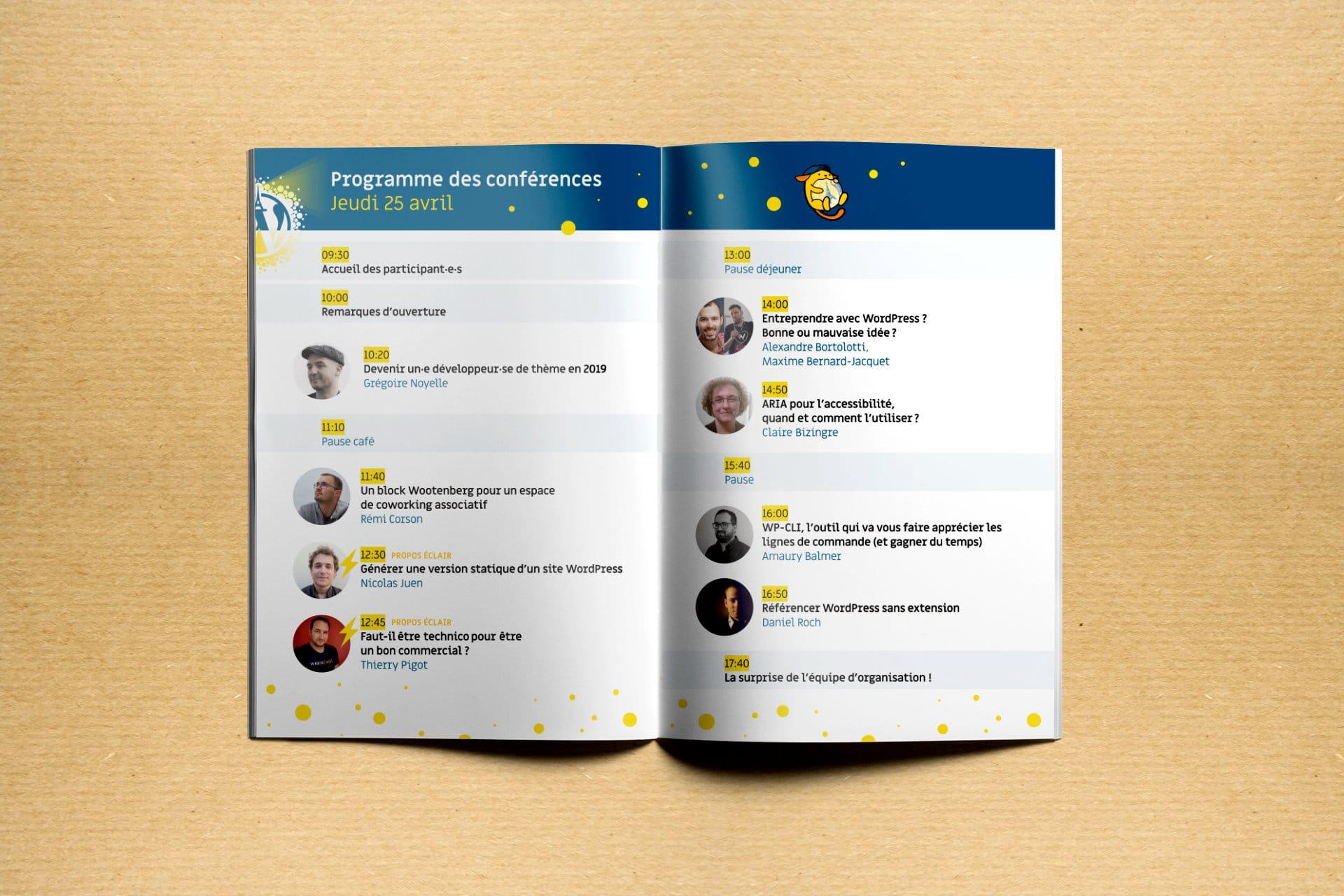brochure wordcamp paris 2019