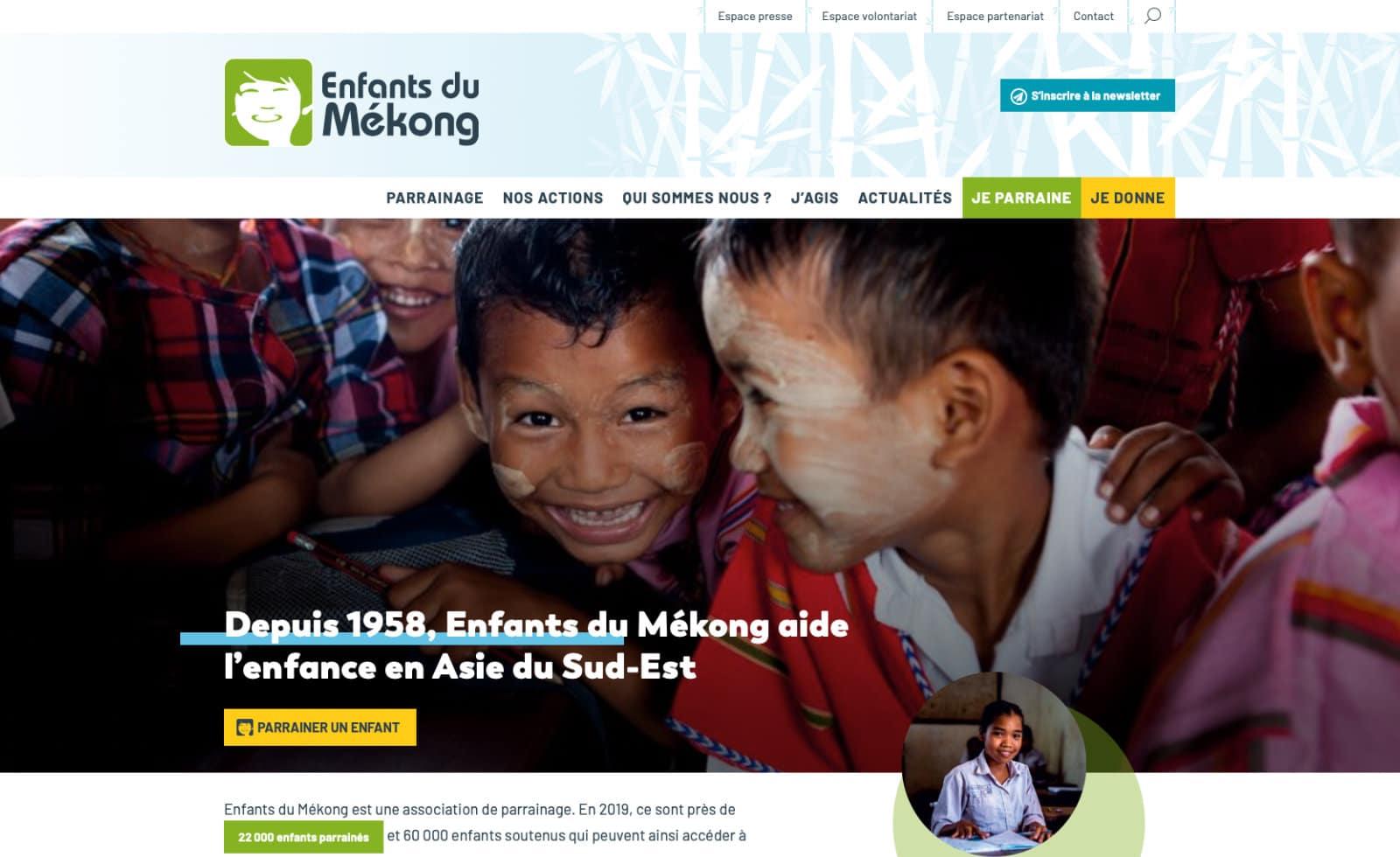 accueil enfants du mekong