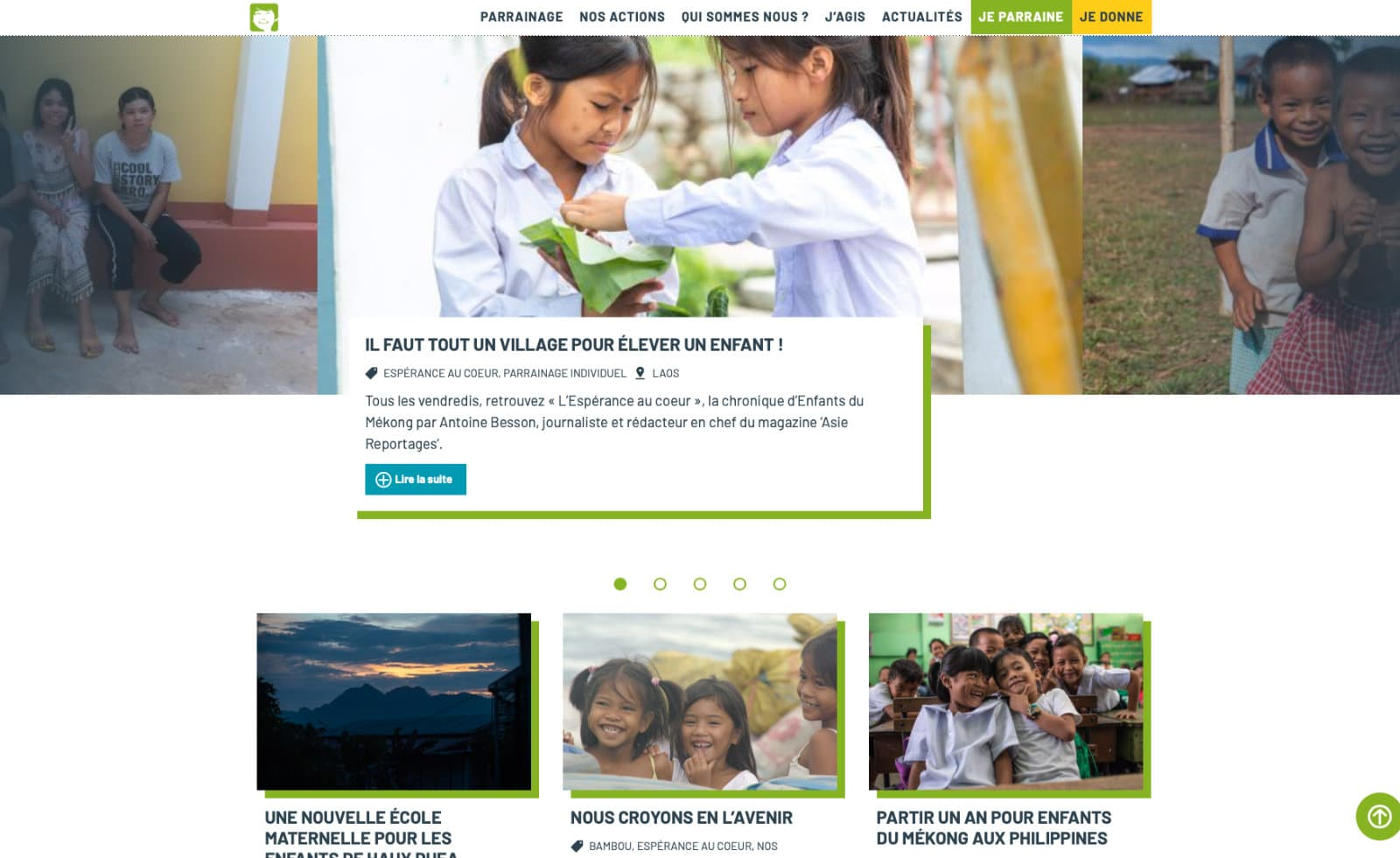 enfants du mekong actus