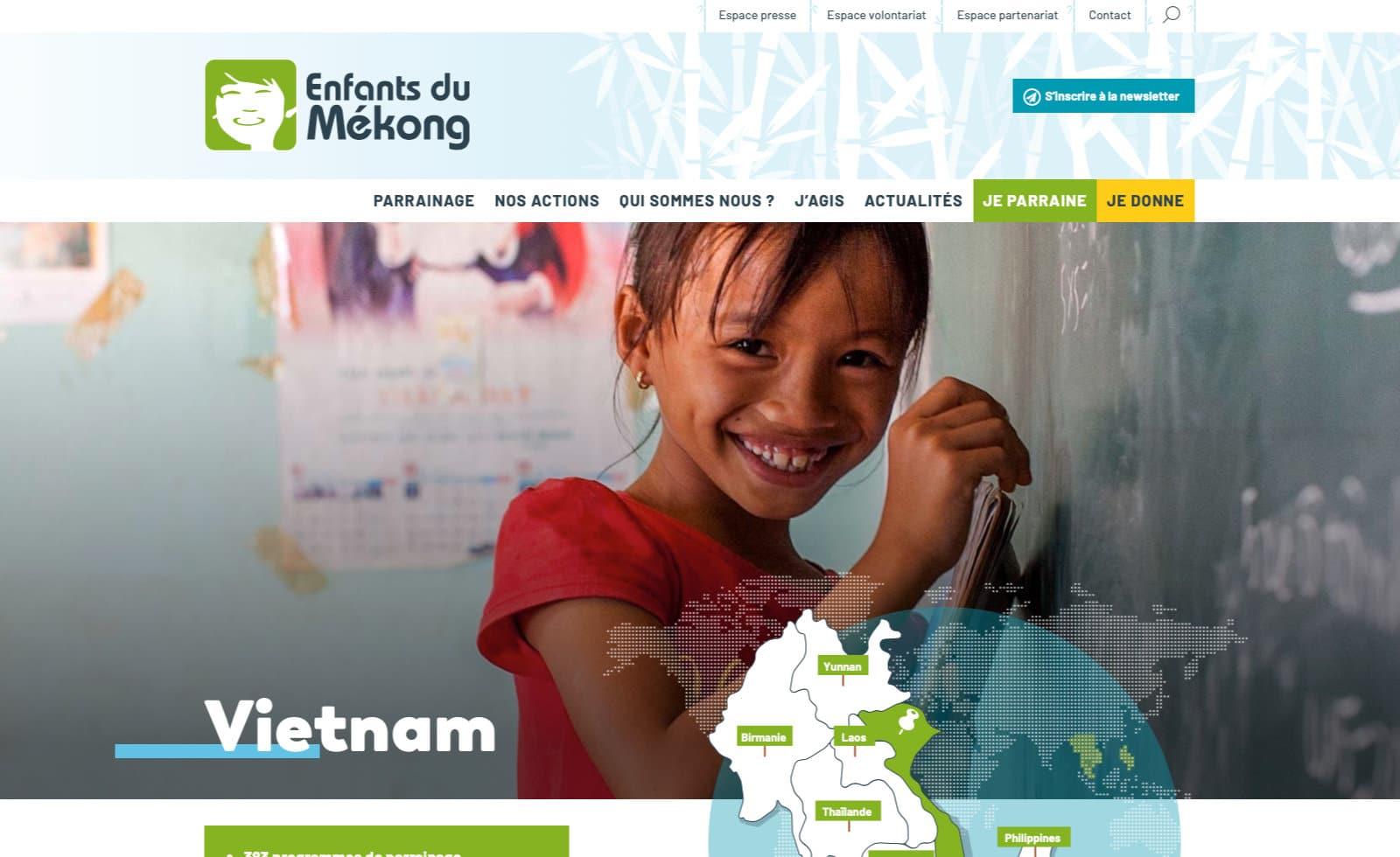 enfants du mekong pays