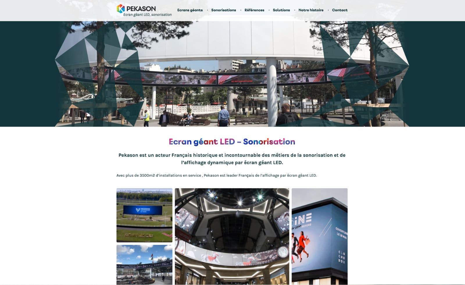pekason home page